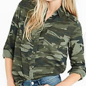 Tops - Express camo top